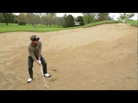 Luke Donald: Mizuno Masterclass #14 - Plugged Lie In Bunker