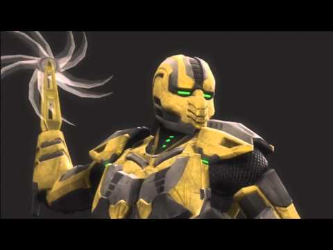 Mortal Kombat 9 Ryona Cyrax Buzz Kill Fatality Jade Sindel Skarlet Mileena Sonya Blade Kitana