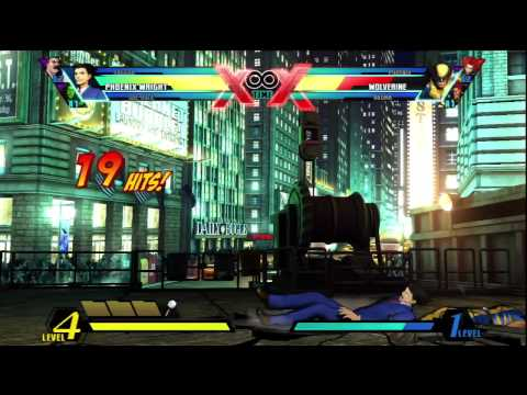 Ultimate Assist Me Tutorial - Phoenix Wright and Iron Fist