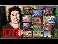 Super Nintendo Marathon - Super Metroid, BUBSY, Megaman X, Donkey Kong Country, Castlevania 4 etc.