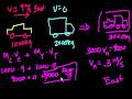 Фрагмент с конца видео - Introduction to momentum | Impacts and linear momentum | Physics | Khan Academy