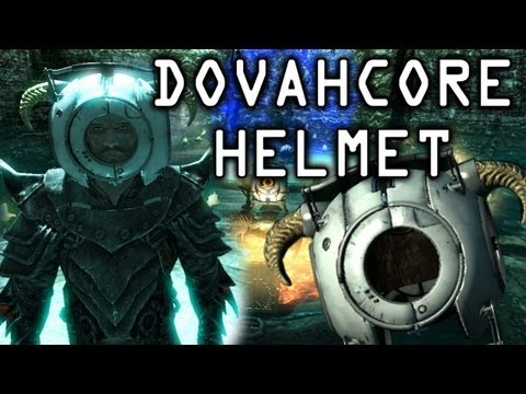 "Skyrim - How to Make Dovahcore Helmet ""Commentary"""