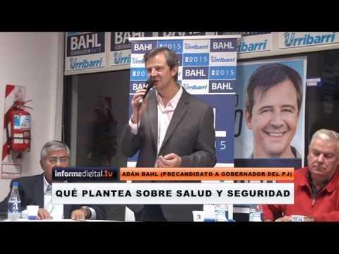 Elecciones 2015. Qu� plantea Bahl sobre salud y seguridad