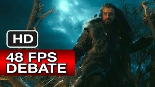 Epic Movie Review - The Hobbit: An Unexpected Journey - The 48 FPS Discussion (2012) Peter Jackson Movie HD