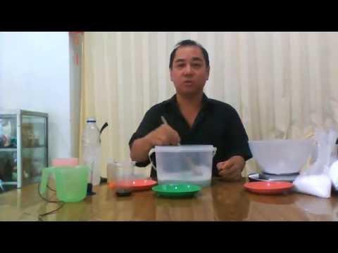 Cara Membuat Sabun Cair -Demo