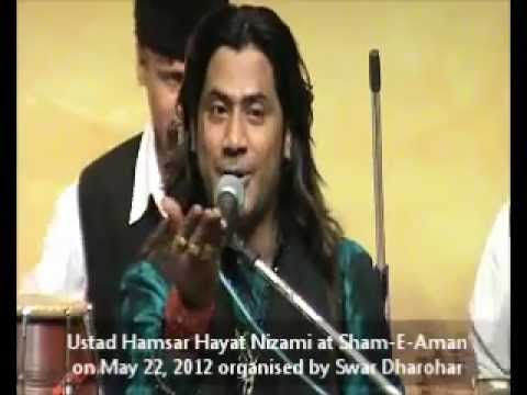 Bewafa yu tera Muskurana by Ustad Hamsar Hayat Nizami at Sham-E-Aman