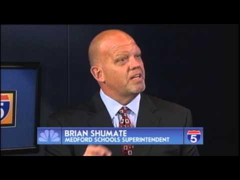 Brian Shumate - Medford Schools Superintendent