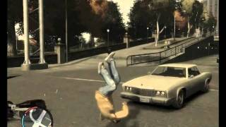 Acidentes com Moto no GTA IV