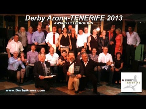 Arona-TENERIFE 2013 - FINAL RACE AWARD CELEBRATION
