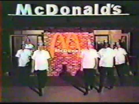 McDonalds Television Ad - c. 1970-s