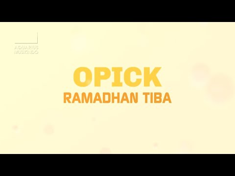 Ramadhan Tiba (Video Lirik)
