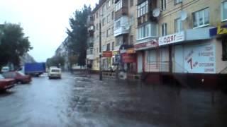 Житомир после дождя превращается в Венецию