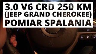 Jeep Grand Cherokee 3.0 V6 CRD 250 KM (AT) - pomiar spalania