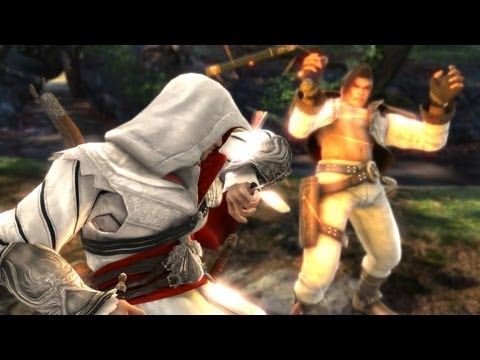 Soul Calibur V 'Ezio Auditore Reveal Trailer' TRUE-HD QUALITY