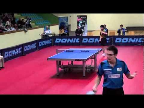 Adrien Mattenet vs Chuang Chih-Yuan[Pontoise Cergy/Levallois 2011]
