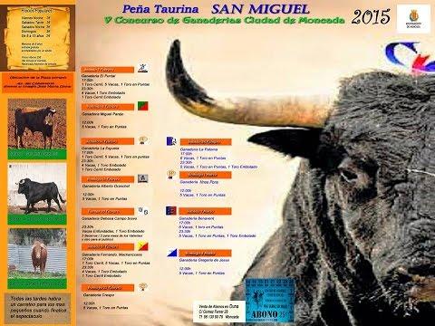 Festejos Taurinos de la Peña Taurina San Miguel de Moncada 2015
