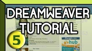 HTML5 & CSS3 | Web Design & Development | Dreamweaver Tutorial