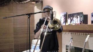 Lady Gaga - Born This Way Cover (Piano/Trombone/Acoustic Instrumental)