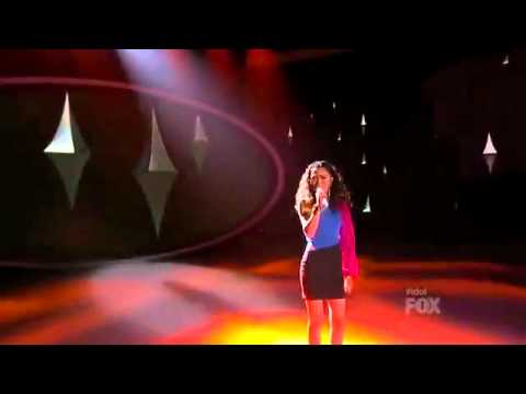 Jessica Sanchez - American Idol - Top 4 - I am Telling You I'm Not Going - Performance Video