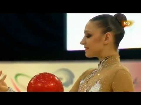 Evgenia Kanaeva ball EC 2012