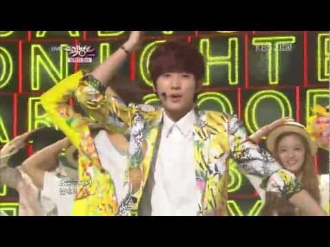 (120629) B1A4 + A Pink Summer Stage Summer Song Special @ Music Bank HD