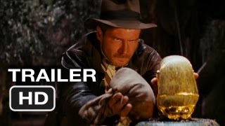 Raiders of the Lost Ark IMAX Trailer (2012) - Harrison Ford Movie HD