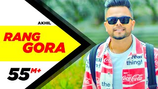 AKHIL  RANG GORA (Official Video)  BOB  Latest Punjabi Song 2018  Speed Records