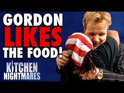 6 Times Gordon Ramsay Actually LIKED THE FOOD! | Kitchen Nightmares COMPILATION