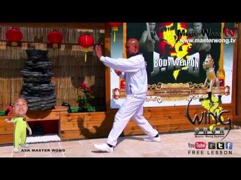 Wing Chun course: How to step with hand exercise, lesson 10