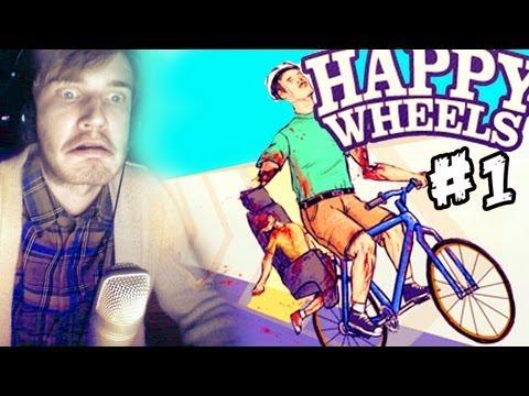 PSYCHO DAD! - Happy Wheels - Part 1