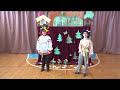 Фрагмент с начала видео Школьный кукольный театр сказка Маша и медведь