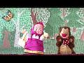 Фрагмент с середины видео Школьный кукольный театр сказка Маша и медведь