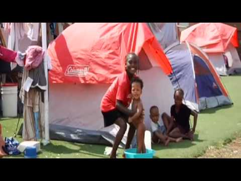 UNICEF: Baby Tents offer safe space for breastfeeding in Haiti