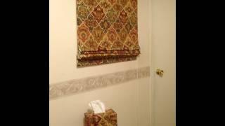 Como hacer una cortina romana Parte 3/3