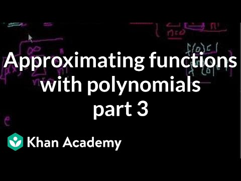 Approximating functions with polynomials (part 3)
