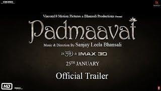 Padmaavat | Official Trailer | Ranveer Singh | Shahid Kapoor | Deepika Padukone