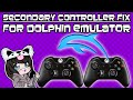 how to easily fix secondary controller issue for dolphin emulator (4.0.2)