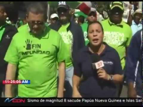 Fernando Fernández dice la marcha no es contra el PLD es contra la impunidad