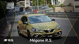 Renault показала новый Megane R.S. в камуфляже