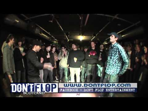 DON'T FLOP - Rap Battle - Wee D Vs Cbas