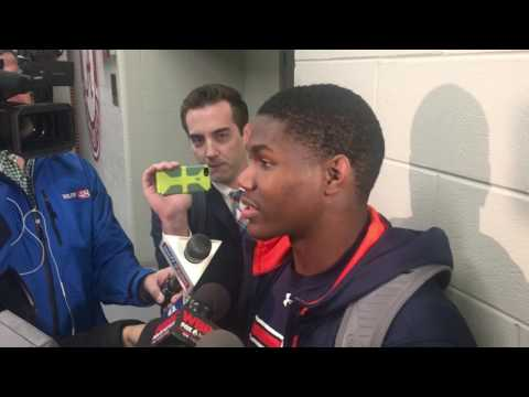 Kerryon Johnson talks about the lose to Alabama in the Iron Bowl 2016