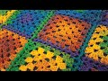 How To Crochet Granny Square - RH