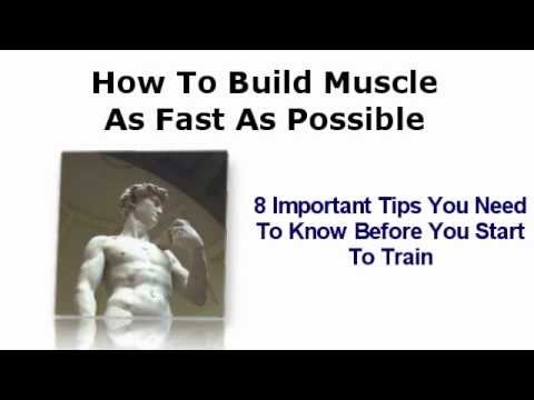 8 Important Bodybuilding Tips To Know Before Training - How To Build Muscle.