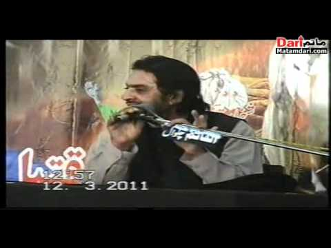 Allama Nasir Abbas Majlis on 12march 2011 At Iskanderabad Distt Mianwali