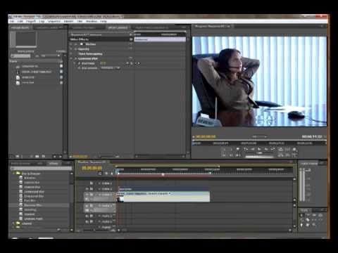 Creating a Text Blur Disolve in Adobe Premiere Pro