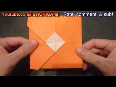 How to make Cool Envelope Origami 封筒折り紙 Sobre 信封 Koperta Amplop Конверт