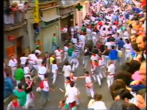 Encierro San Fermín   14 de julio de 1990 480p