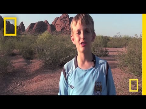 National Geographic Bee 2011 - AZ Finalist