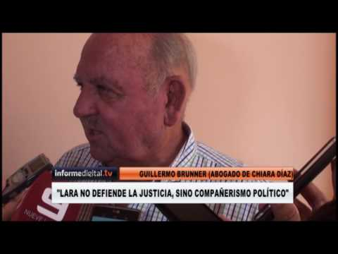<b>Juicio político.</b> Chiara Díaz le presentó se renuncia al STJ a Bordet