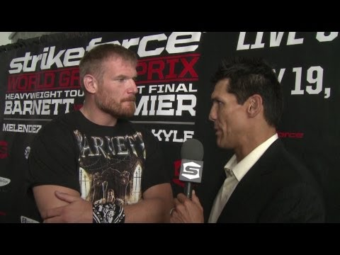 Strikeforce - Barnett vs. Cormier, Melendez vs. Thomson News Update - SHOWTIME
